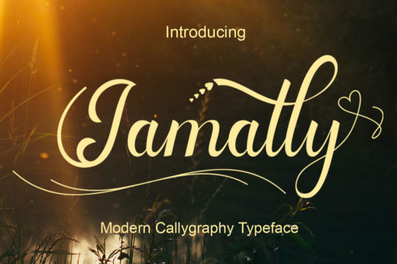 Print on Demand: Jamally Script & Handwritten Font By AzzamStudio