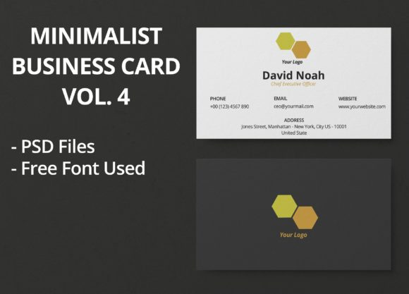 Print on Demand: Minimalist Business Card Vol. 4 Graphic Print Templates By JunioR Creative