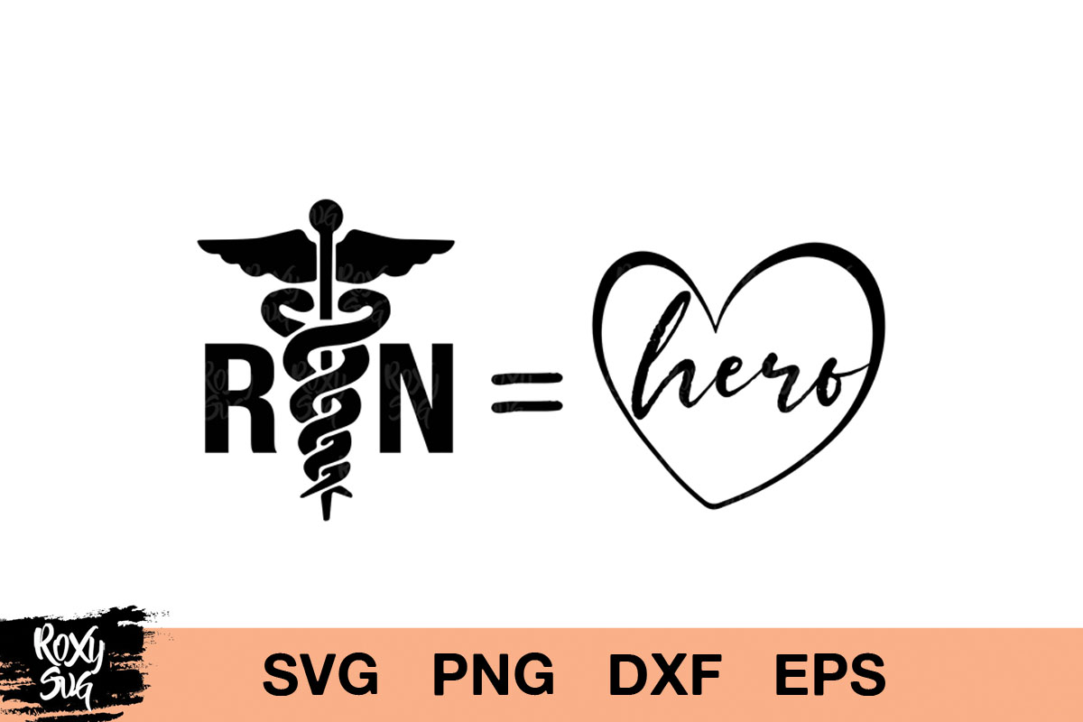 Download Free Nurse Hero Graphic By Roxysvg26 Creative Fabrica for Cricut Explore, Silhouette and other cutting machines.