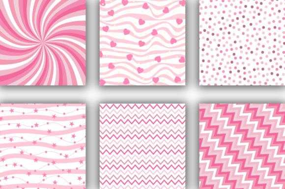 Pink Candy Background Graphic Backgrounds By PinkPearly - Image 2