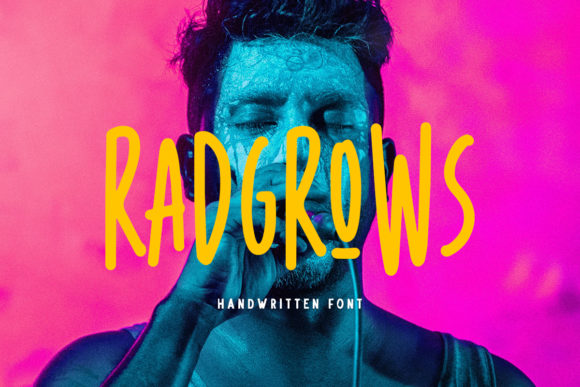 Print on Demand: Radgrows Sans Serif Font By letterhend
