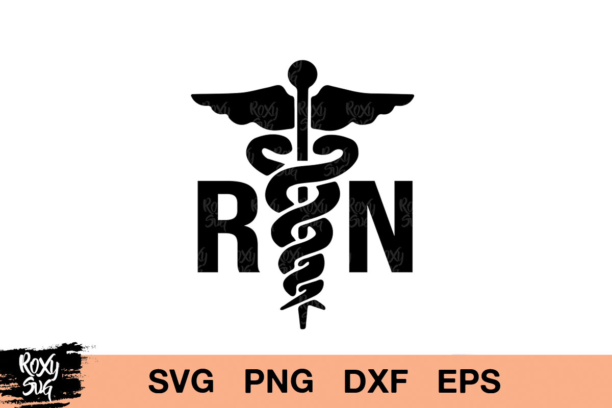 Download Free Registered Nurse Logo Graphic By Roxysvg26 Creative Fabrica for Cricut Explore, Silhouette and other cutting machines.