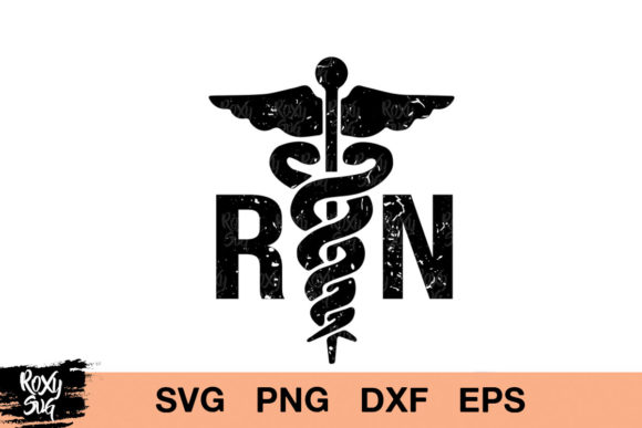 Download Free Registered Nurse Graphic By Roxysvg26 Creative Fabrica for Cricut Explore, Silhouette and other cutting machines.