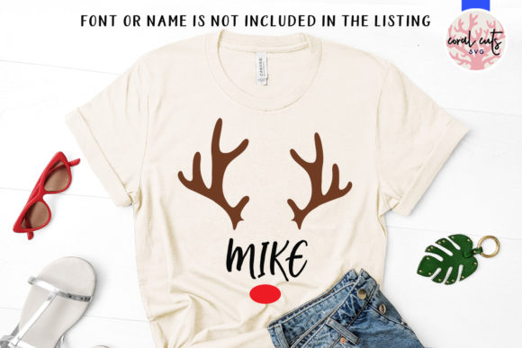 Download Free Reindeer Matchmaking Names Graphic By Coralcutssvg Creative for Cricut Explore, Silhouette and other cutting machines.