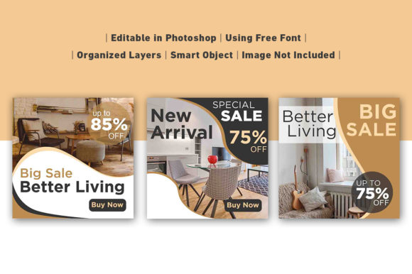 Download Free Social Media Post Home And Furniture Graphic By Ant Project for Cricut Explore, Silhouette and other cutting machines.