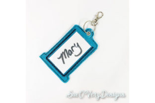 Tag in the Hoop - Thread Accessories Embroidery Design By Sookie Sews