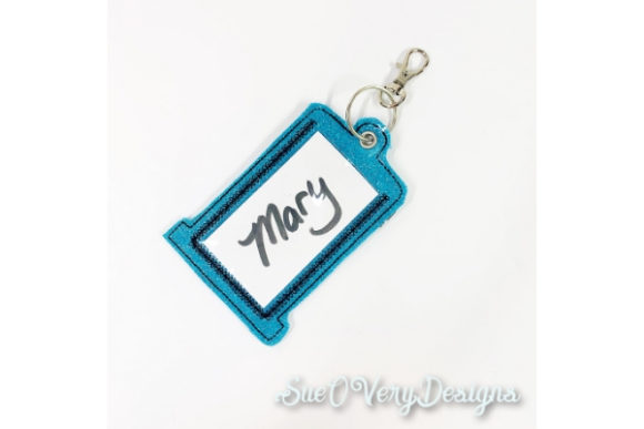 Tag in the Hoop - Thread Accessories Embroidery Design By Sue O'Very Designs