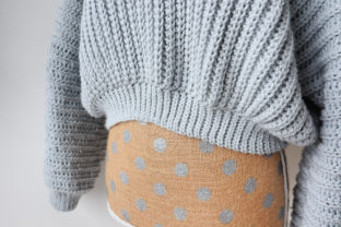 The Super Slouchy Sweater Graphic Crochet Patterns By thesnugglery