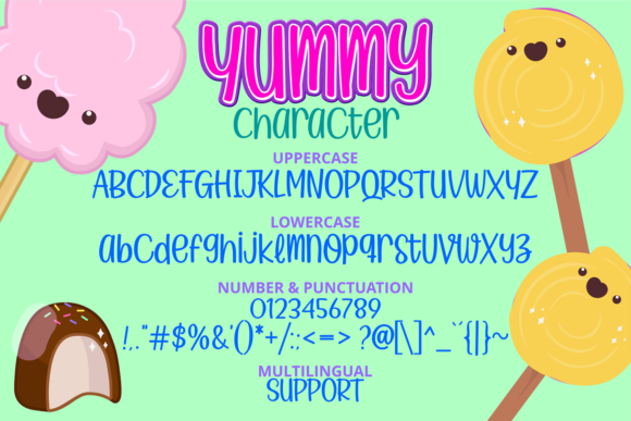 Yummy Ice Cream Font Download