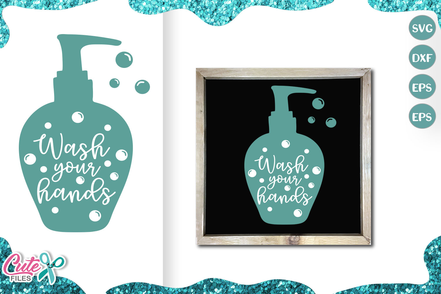 Download Free Wash Your Hands Social Distancing Graphic By Cute Files SVG Cut Files