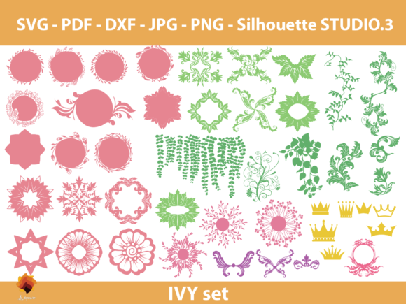 Download Free 130 Paper Flowers Center Templates Grafik Von Lasquare Info for Cricut Explore, Silhouette and other cutting machines.