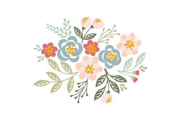 Layered Floral Design Designs & Drawings Craft Cut File By Creative Fabrica Crafts