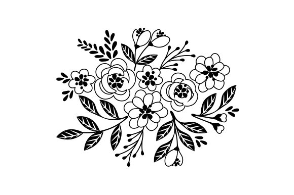 Layered Floral Design Designs & Drawings Craft Cut File By Creative Fabrica Crafts - Image 2