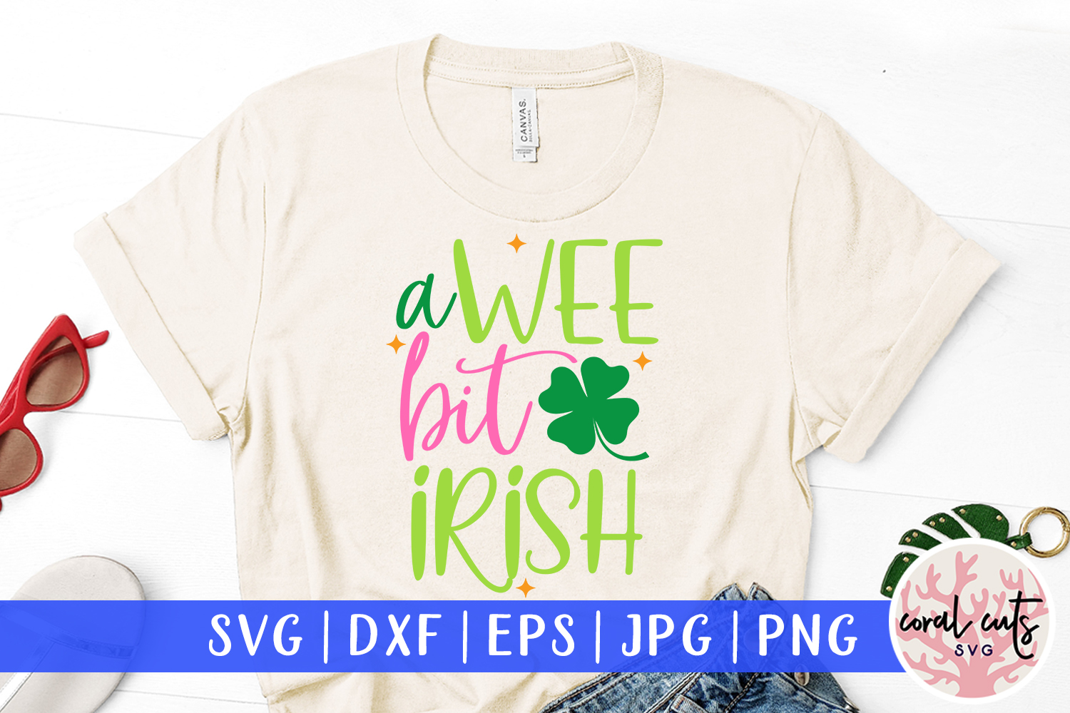 Download Free A Wee Bit Irish Svg Cut File Graphic By Coralcutssvg Creative for Cricut Explore, Silhouette and other cutting machines.