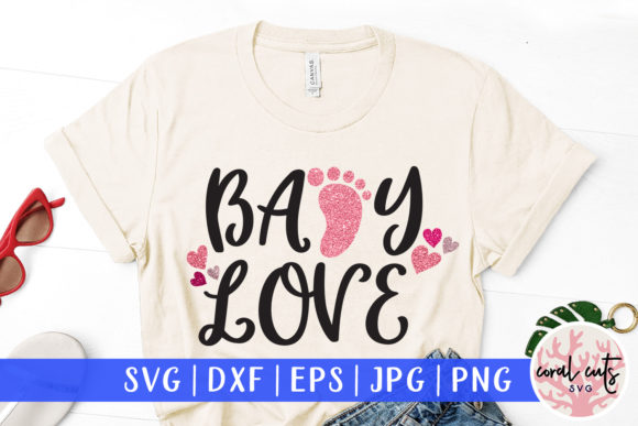 Download Free 1 Baby Love Svg Designs Graphics for Cricut Explore, Silhouette and other cutting machines.