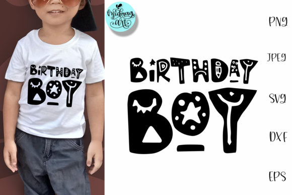Download Free Birthday Boy Birthday Shirt Graphic By Midmagart Creative Fabrica for Cricut Explore, Silhouette and other cutting machines.