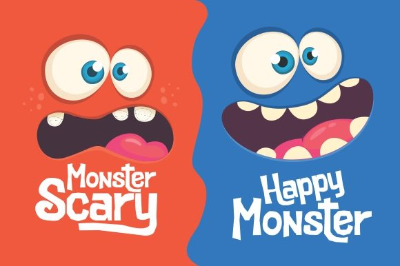 Download Free Cutenes Monster Font By Eknoji Creative Fabrica for Cricut Explore, Silhouette and other cutting machines.