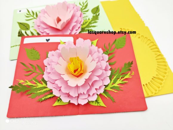 Download Free Diy 3d Pop Up Greeting Card Graphic By Lasquare Info Creative for Cricut Explore, Silhouette and other cutting machines.