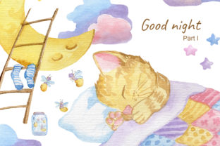 Print on Demand: Good Night. Party 1 Graphic Illustrations By laffresco04