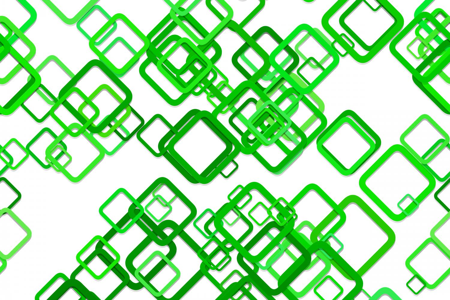 Download Free Green Seamless Rounded Square Pattern Graphic By Davidzydd for Cricut Explore, Silhouette and other cutting machines.