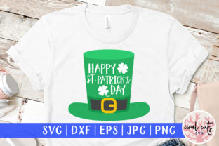 Happy St. Patrick's Day Graphic Crafts By CoralCutsSVG