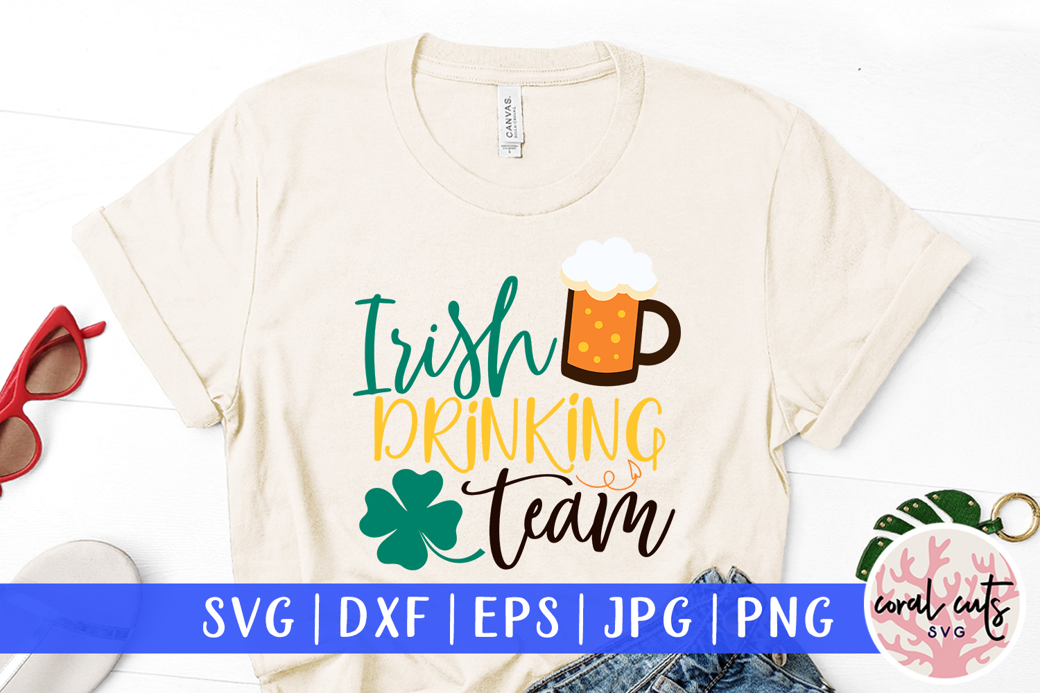 Download Free Irish Drinking Team Svg Cut File Graphic By Coralcutssvg for Cricut Explore, Silhouette and other cutting machines.