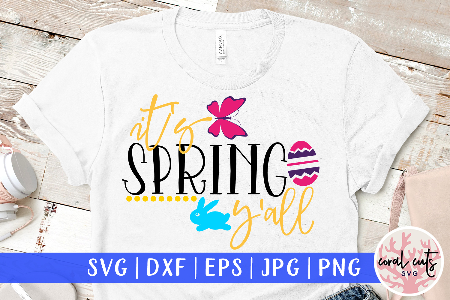 Download Free It S Spring Y All Svg Cut File Graphic By Coralcutssvg for Cricut Explore, Silhouette and other cutting machines.