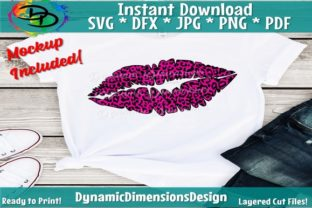 Download Free Leopard Lips Graphic By Dynamicdimensions Creative Fabrica for Cricut Explore, Silhouette and other cutting machines.
