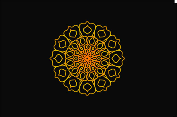 Download Free Mandala Art 0076 Graphic By Uungurukreatif Creative Fabrica for Cricut Explore, Silhouette and other cutting machines.