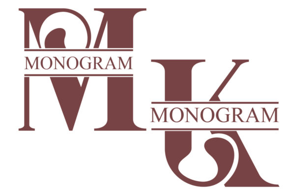 Download Free Monogram Font By Jehansyah251 Creative Fabrica for Cricut Explore, Silhouette and other cutting machines.