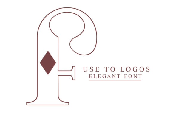 Monogram Font Popular Design