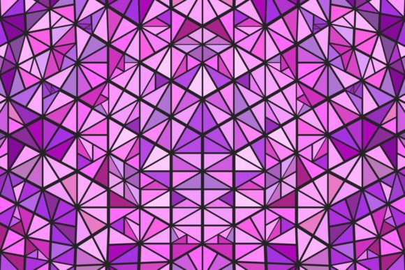 Mosaic Background Graphic Patterns By davidzydd