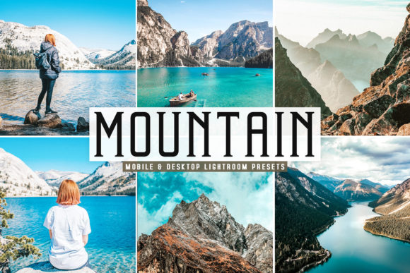 Print on Demand: Mountain Pro Lightroom Presets Gráfico Acciones y Pre-ajustes Por Creative Tacos
