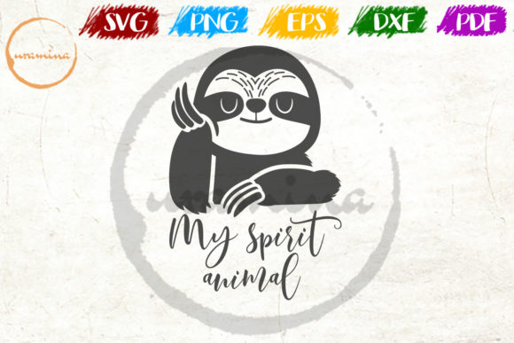 Download Free My Spirit Animal Graphic By Uramina Creative Fabrica for Cricut Explore, Silhouette and other cutting machines.