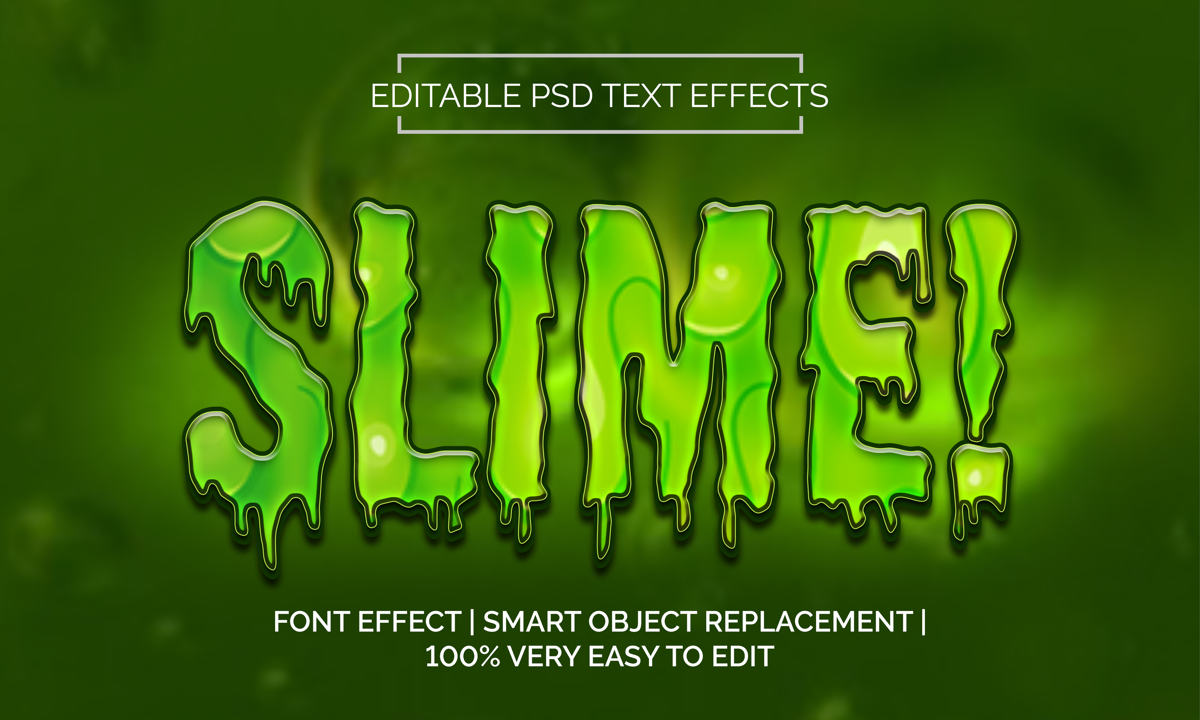 Download Free Slime Text Effects Style Graphic By Rockability10 Creative for Cricut Explore, Silhouette and other cutting machines.