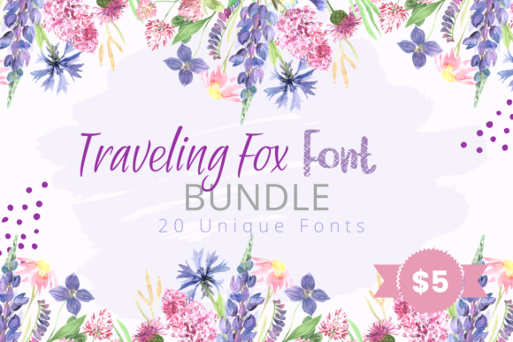 Traveling Fox Font Bundle  By The Traveling Fox