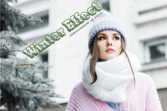 Winter Effect Graphic Actions & Presets By RS DESIGN