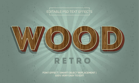 Wood Style Text Effects Style Premium Graphic Layer Styles By Neyansterdam17