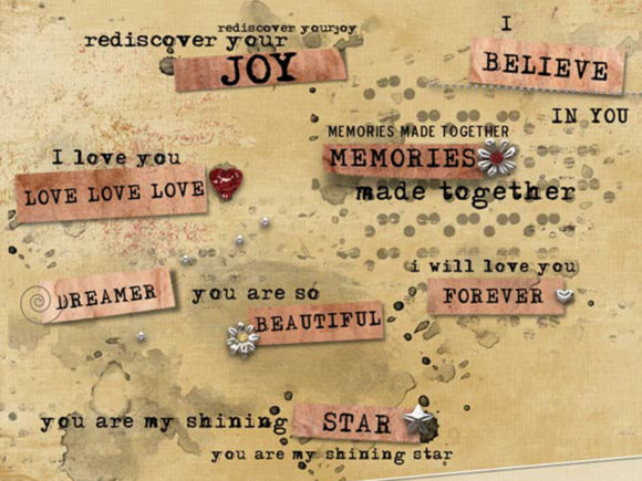 Download Free Word Art Graphics Abbee Set Graphic By Lilbitdistressed for Cricut Explore, Silhouette and other cutting machines.