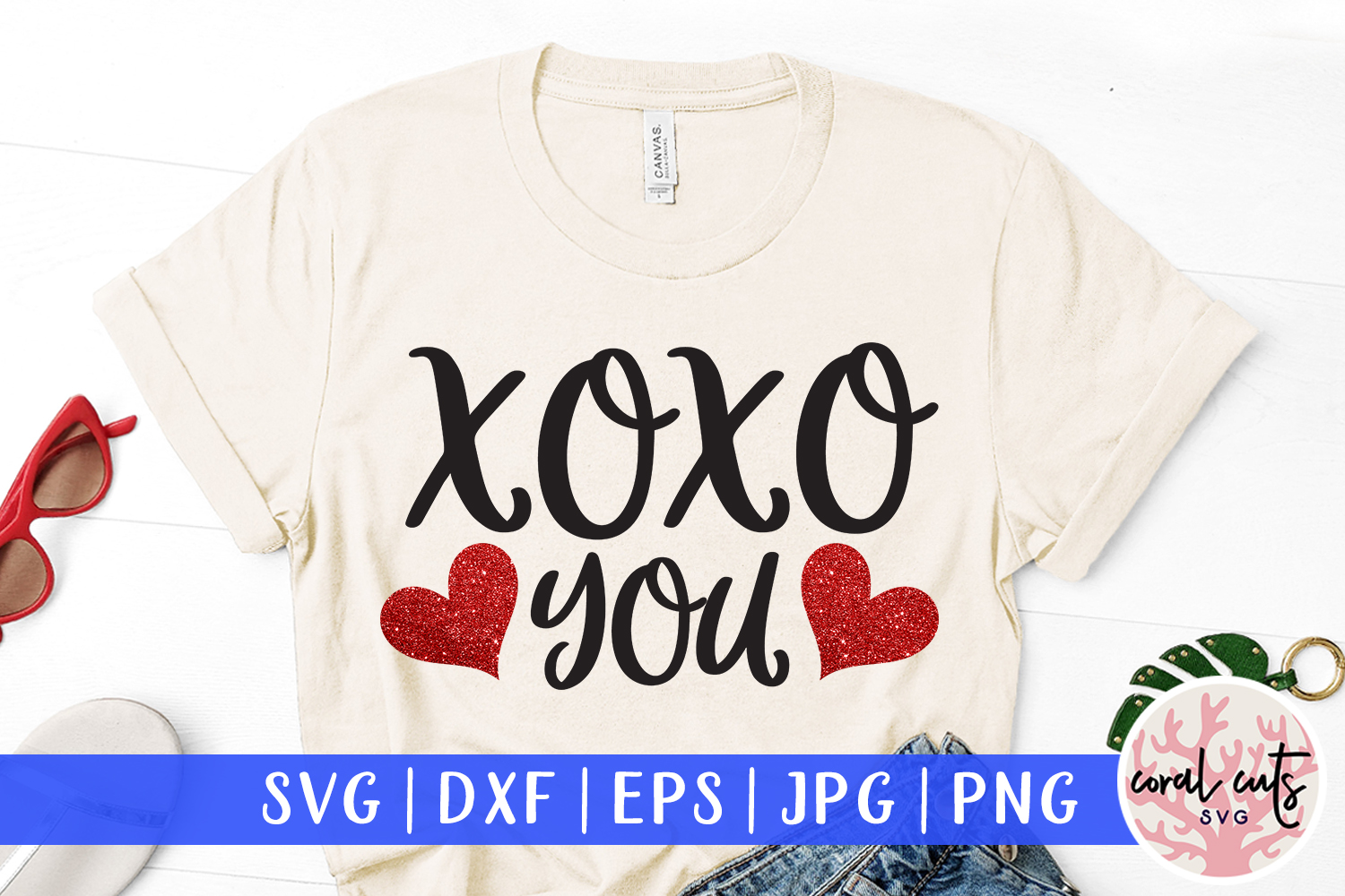Download Free Xoxo You Graphic By Coralcutssvg Creative Fabrica for Cricut Explore, Silhouette and other cutting machines.