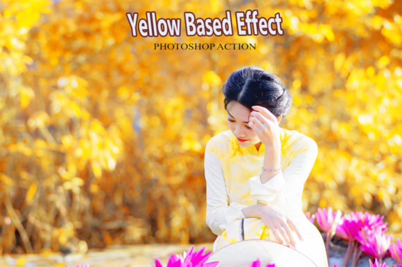 Yellow Based Effect Graphic Actions & Presets By RS DESIGN