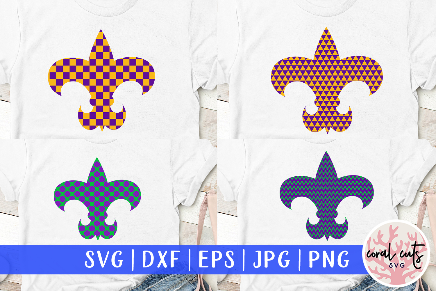 Download Free Fleur De Lis Pattern Svg Cut File Graphic By Coralcutssvg for Cricut Explore, Silhouette and other cutting machines.