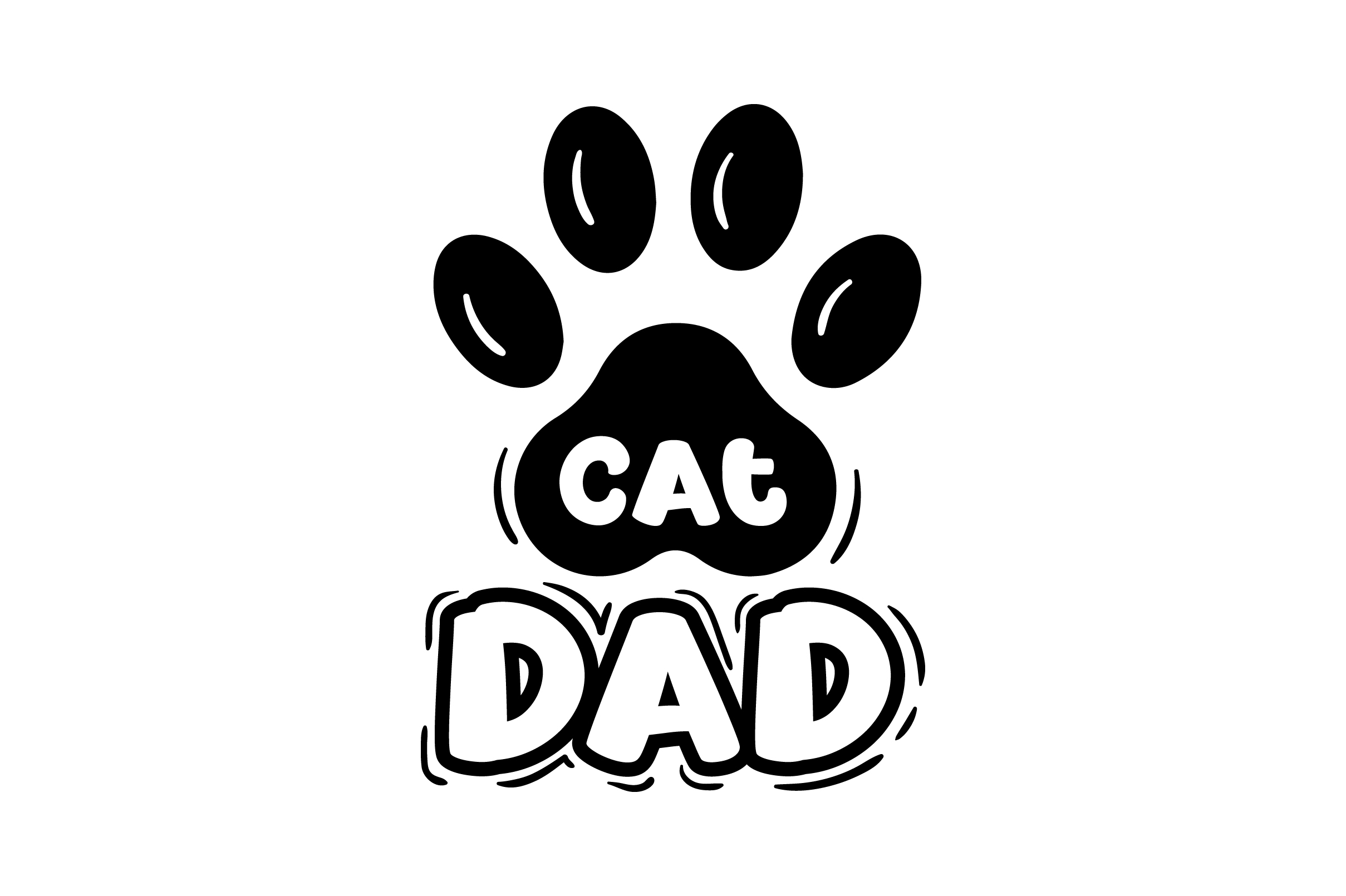 Download Free Cat Dad Svg Cut File By Creative Fabrica Crafts Creative Fabrica for Cricut Explore, Silhouette and other cutting machines.