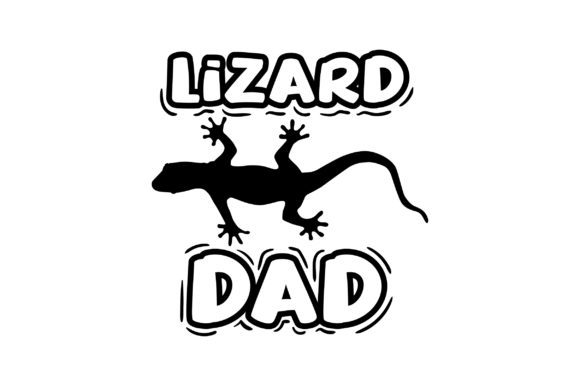Download Free Lizard Dad Svg Cut File By Creative Fabrica Crafts Creative for Cricut Explore, Silhouette and other cutting machines.