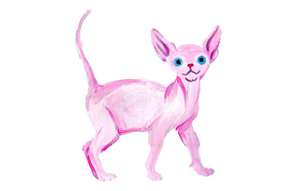 Sphynx Cat Cats Craft Cut File By Creative Fabrica Crafts