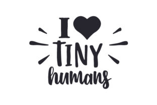 I (heart) Tiny Humans Medical Craft Cut File By Creative Fabrica Crafts