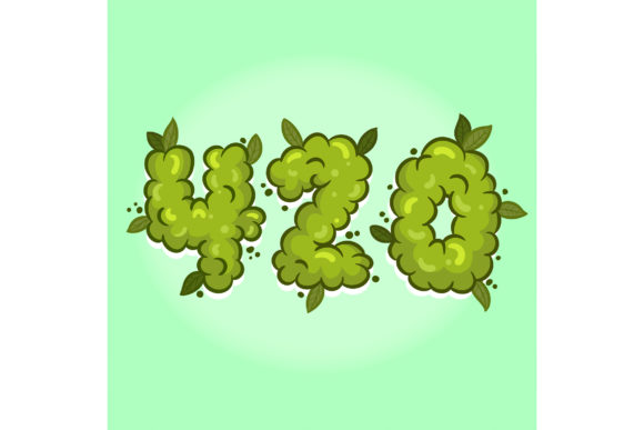Print on Demand: 420 Weed Hand Lettering Graphic Illustrations By Miss Chatz