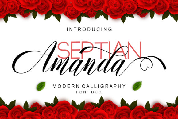 Print on Demand: Amanda Script & Handwritten Font By Viewtype