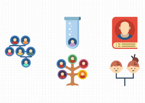 Ancestry Graphic Icons By gantengagif7