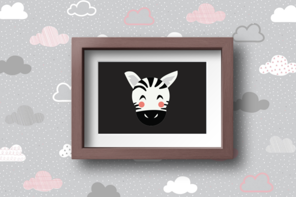 Print on Demand: BUNDLE- Cute Animals Characters Graphic Illustrations By duka - Image 11